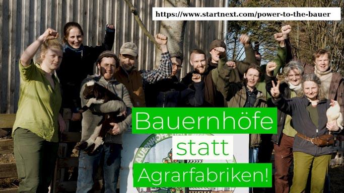 Crowfunding auf https://www.startnext.com/power-to-the-bauer