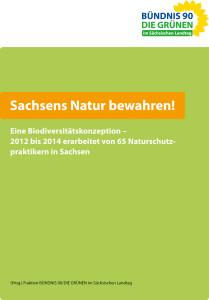 Sachsens Natur bewahren - Eine Biodiversitätskonzeption [PDF Download]