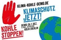 Klima-Kohle-Demo am 1.12.2018