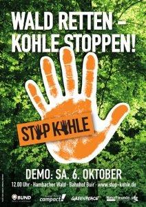 Stop-Kohle-Demo am 6.10.2018